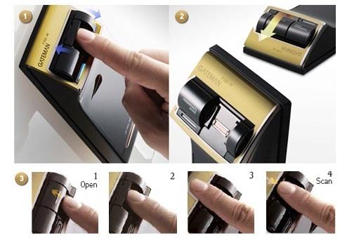 قفل اثر انگشتی و رمزدار