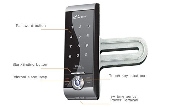 قفل امنیتی دیجیتال