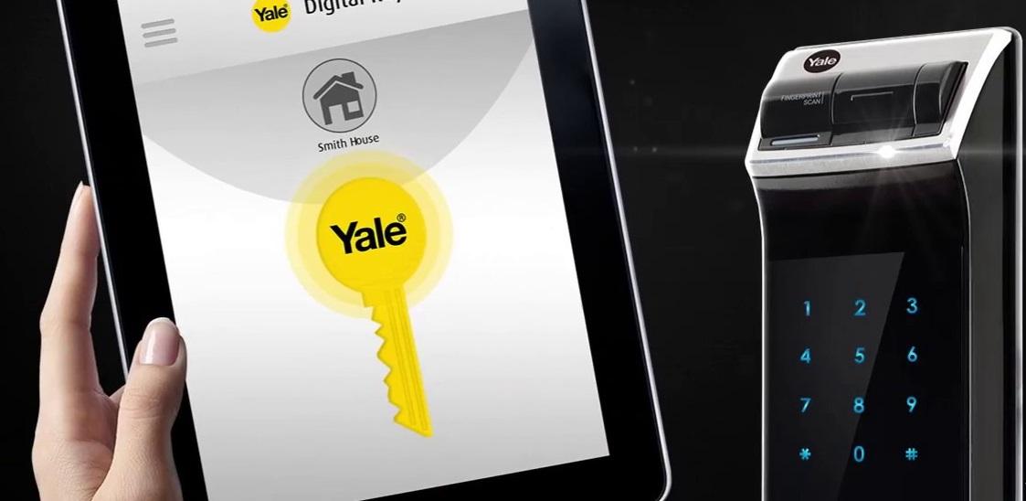 قفل دیجیتال رمزی و اثر انگشتی YDM4109 یال