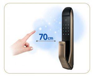قفل دیجیتال سامسونگ مدل SHP-DP820 بدون دستگیره هوشمند