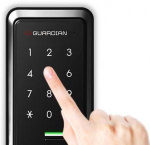 قفل دیجیتال اچ گنگ مدل TR821 بدون دستگیره لمسی اثر انگشتی