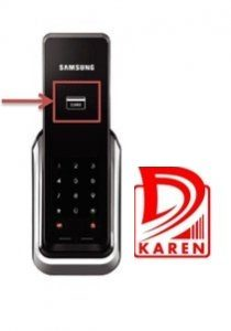 قفل دیجیتال سامسونگ مدل SHS-P520 بدون دستگیره