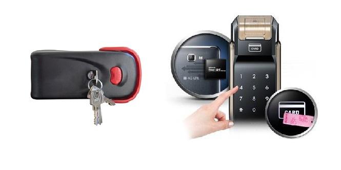 مقایسه قفل الکترونیکی و قفل معمولی