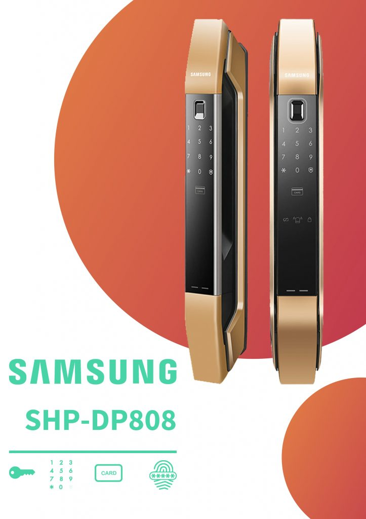 قیمت قفل دیجیتال سامسونگ مدل P808