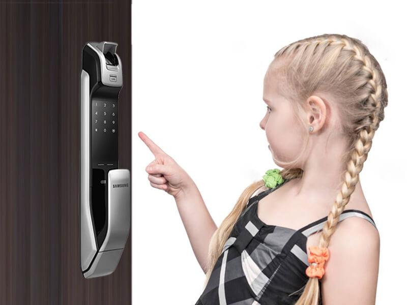 قفل کودک قفل اثر انگشتی