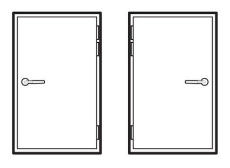 قابلیت نصب کد هندل بر روی درب های راست بازشو و چپ باز شو