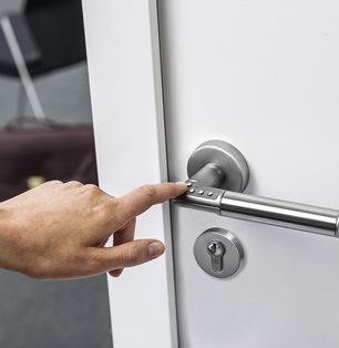 قفل دیجیتال رمزی یال Code Handle