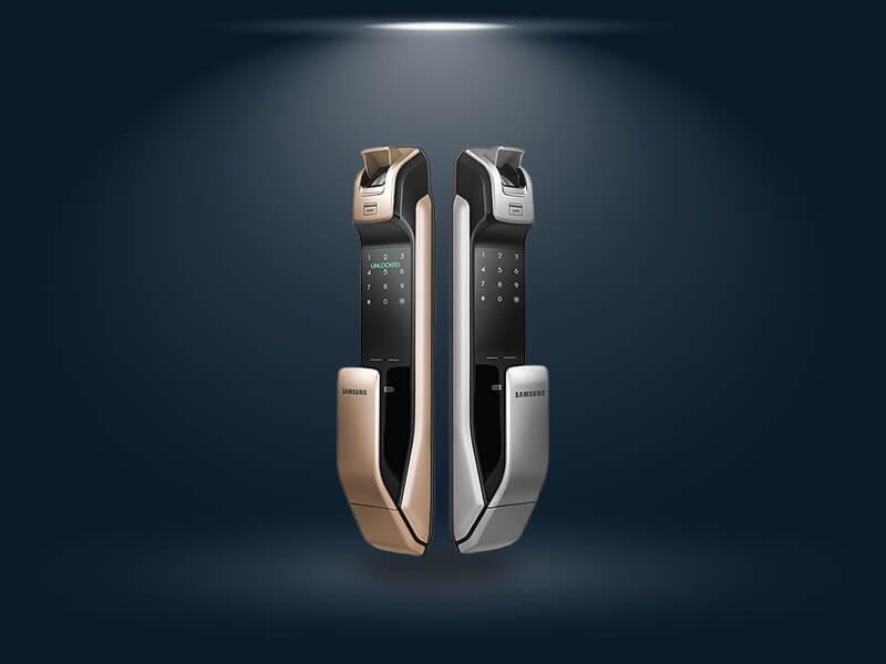 قفل اثر انگشتی سامسونگ مدل SHP-DP728