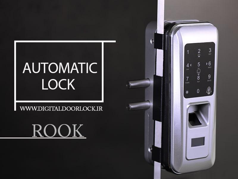 قفل دیجیتال روک GLASS 668